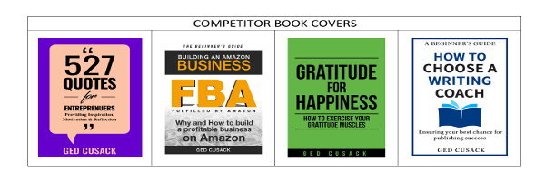 Competitor Book Covers